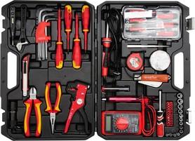 Yato YT-39009 zestaw narzędzi dla elektryka 68 elementów w walizce