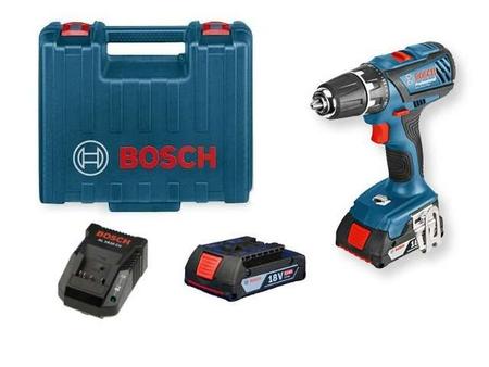 Bosch GSB 18-2Li Plus wkrętarka udarowa 2x2,0Ah w walizce 06019E7120       (1)
