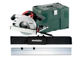 Metabo KSE 55 VARIO Plus Set ręczna pilarka tarczowa 1200W 160 mm + szyna prowadząca w walizce