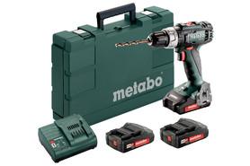 Metabo BS 18 L Set wiertarko-wkrętarka 18V 3x2,0Ah w walizce 602321540