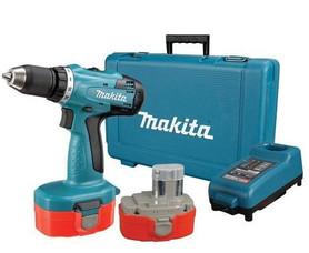 Makita 6391DWAE akumulatorowa wiertarko-wkrętarka 18V 2x1,9Ah Ni-Cd 42Nm w walizce