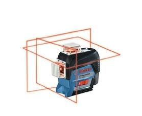 Bosch GLL 3-80 C laser liniowy 3-płaszczyznowy + uchwyt BM 1 w L-Boxx 0601063R02