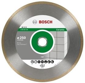 Bosch tarcza diamentowa pełna Standard for Ceramic 250x30/25,40 1,6x7 mm 2608602539