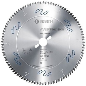 Bosch Wood Top Precision piła do cięcia drewna i innych materiałów drewnopochodnych 305x2,3x30 mm 72 zęby 2608642103