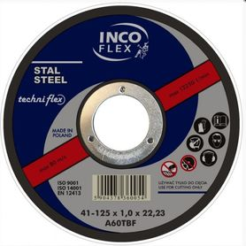 Incoflex tarcza tnąca do metalu 180x3,2x22,2 mm M41-180-3.2-22A30R