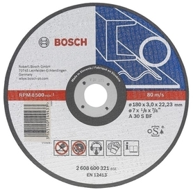 Bosch tarcza tnąca do metalu 125x2,5x22,2 mm 2608600394