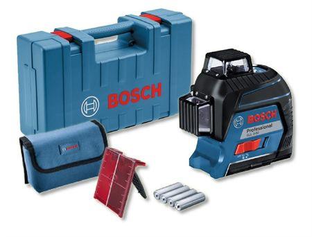 Bosch GLL 3-80 laser liniowy 3-płaszczyznowy w walizce 0601063S00
