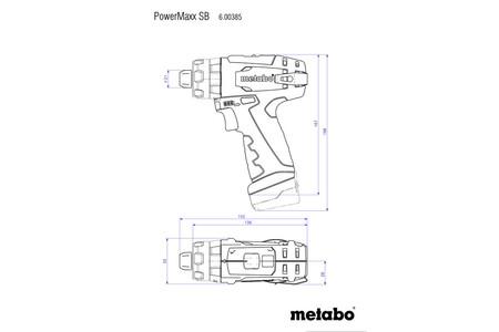 Metabo Combo Set 10.8V