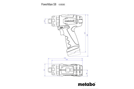 Metabo PowerMaxx SB Basic Set