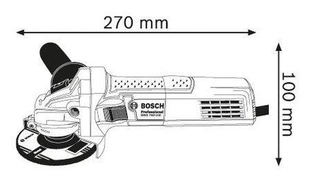 Bosch GWS 750 S
