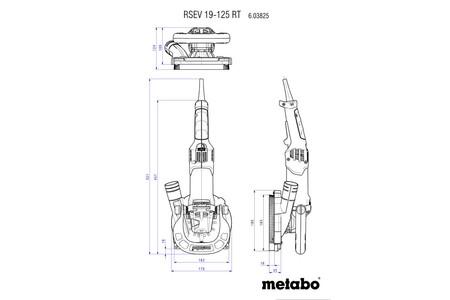 Metabo RSEV 19-125 RT