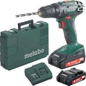 Metabo BS 18 wiertarko-wkętarka 18V 2x2,0Ah w walizce 602207560