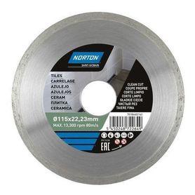 Norton tarcza diamentowa Ceramic Tiles 115 mm 70184601274