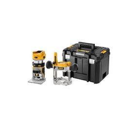 DeWalt DCW604NT-XJ akumulatorowa frezarka 18V XR 2w1 8mm bez akumulatorów i ładowarki w walizce