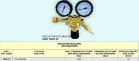 REDUKTOR CO2/AR 2-ZEGARY RED113 32l/min