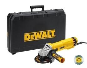 DeWalt DWE4217KD-QS szlifierka kątowa 125 mm 1200W walizce + tarcza diamentowa gratis
