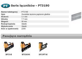BOSTITCH GWOŹDZIE PT 33` 3,1 x 90mm 2200 szt.