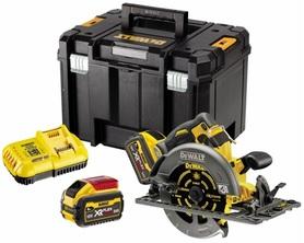 DeWalt DCS579X2-QW akumulatorowa ręczna pilarka tarczowa 190 mm 54V/18V 2x9,0Ah XR Flexvolt silnik bezszczotkowy w walizce