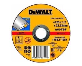 DeWalt DT42340Z-QZ tarcza tnąca 125x22,23x1,2 mm INOX