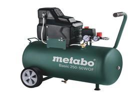 Metabo Basic 250-50 W OF sprężarka kompresor tłokowy bezolejowy 50l 230V 601535000