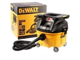 DeWalt DWV901LT-QS odkurzacz przemysłowy 30l 1400W - Klasa L z zaczepem do mocowania TSTAK
