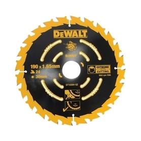 DeWalt DT10304-QZ piła tarczowa do cięcia drewna 190x30 mm 24 zębów