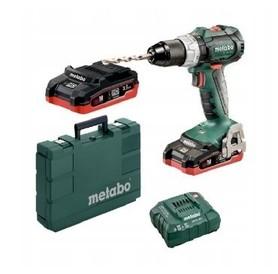 Metabo BS 18 LT BL wiertarko-wkrętarka 18V 2x3,5Ah 60/34Nm LiHD w walizce 602325820