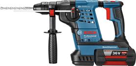 Bosch GBH 36 V-Li akumulatorowa młotowiertarka 36V 2x4,0Ah w walizce PCV 0611906003