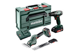 Metabo zestaw Combo Set 2.2.5 18V (BS 18 + SGS 18 LTX Q) w walizce 685186000