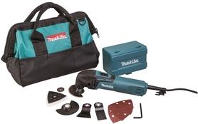 Makita TM3000CX6 urządzenie wielofunkcyjne 320W z akcesoriami w torbie