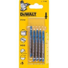 DeWalt DT2162-QZ brzeszczot do cięcia metalu 76,5x0,7 mm do wyrzynarki komplet 5 szt.