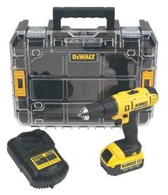 DeWalt DCD776M1T-QW wiertarko-wkrętarka udarowa 18V 1x4,0Ah XR Li-Ion w walizce