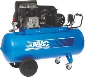 ABAC B5900B Pro 270 CT5,5 sprężarka olejowa 270 litrów 400V 11 bar 4116019770