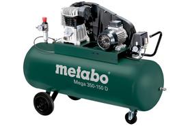 Metabo Mega 350-150 D sprężarka kompresor tłokowy olejowy 400V 150 l 10 bar 601587000