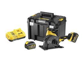 DeWalt DCG200T2-QW akumulatorowa bruzdownica 125 mm 18/54V 2x6,0Ah Li-lon XR FlexVolt w walizce