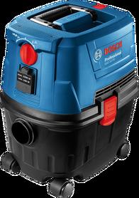 Bosch GAS 15 PS Professional odkurzacz do pracy na sucho i na mokro z automatycznym gniazdem 1100W 06019E5100