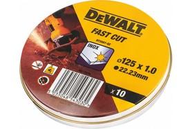 DeWalt DT3507-QZ tarcza tnąca do cięcia metalu 125x1,0 mm 10 szt.