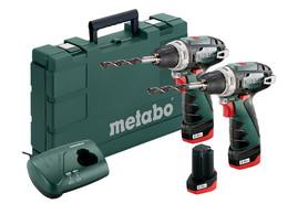 Metabo zestaw Combo Set 10,8V wkrętarka PowerMaxx BS x 2 szt 3x2,0Ah w walizce 685093000