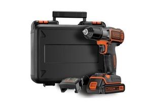 Black&Decker ASD184K-QW wiertarko-wkrętarka 18V 1x1,5Ah z technologią Autosense i Autoselect w walizce