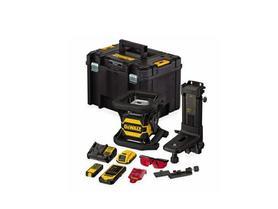 DeWalt DCE080D1RS-QW laser obrotowy 18V 1x2,0Ah 60 m wiązka czerwona w walizce