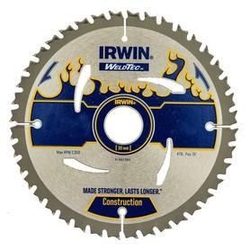 Irwin 1897384 piła tarczowa do cięcia drewna 190x30 mm 40 zębów widia MPP IR WT
