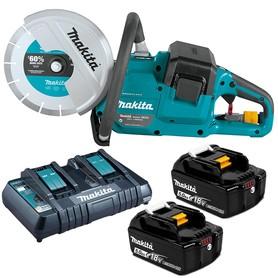 Makita DCE090T2X1 akumulatorowa pilarka tarczowa 230 mm 2x18V 2x5,0Ah w kartonie