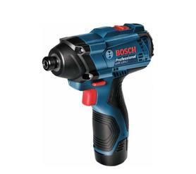 Bosch GDR 120-LI akumulatorowy zakrętak udarowy 12V 2x1,5Ah 100Nm w walizce 06019F0001