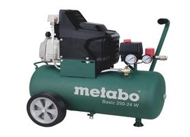 Metabo Basic 250-24 W sprężarka kompresor tłokowy olejowy 24l 230V 601533000