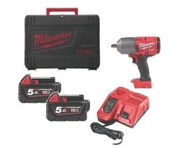 Milwaukee M18 FHIWF12-502X akumulatorowy klucz udarowy 18V 2x5,0Ah Li-Ion 1356Nm 1/2