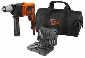 Black&Decker BEH850SA32-QS wiertarka udarowa 850W uchwyt samozaciskowy z akcesoriami 32 elementy w torbie