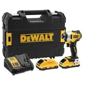 DeWalt DCF809L2T-QW akumulatorowy zakrętak udarowy 18V 2x3,0Ah 190Nm w walizce