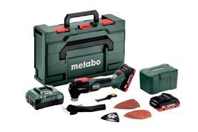 Metabo MT 18 LTX BL akumulatorowe urządzenie wielofunkcyjne 18V 2x4,0Ah w walizce 613088800