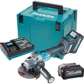 Makita GA023GM201 akumulatorowa szlifierka kątowa 125 mm 40V max XGT 2x4,0Ah AWS z regulacją obrotów w walizce