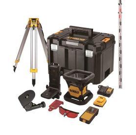 DeWalt DCE074D1R-QW laser obrotowy 18V 1x2,0Ah czerwona wiązka 45 m w walizce